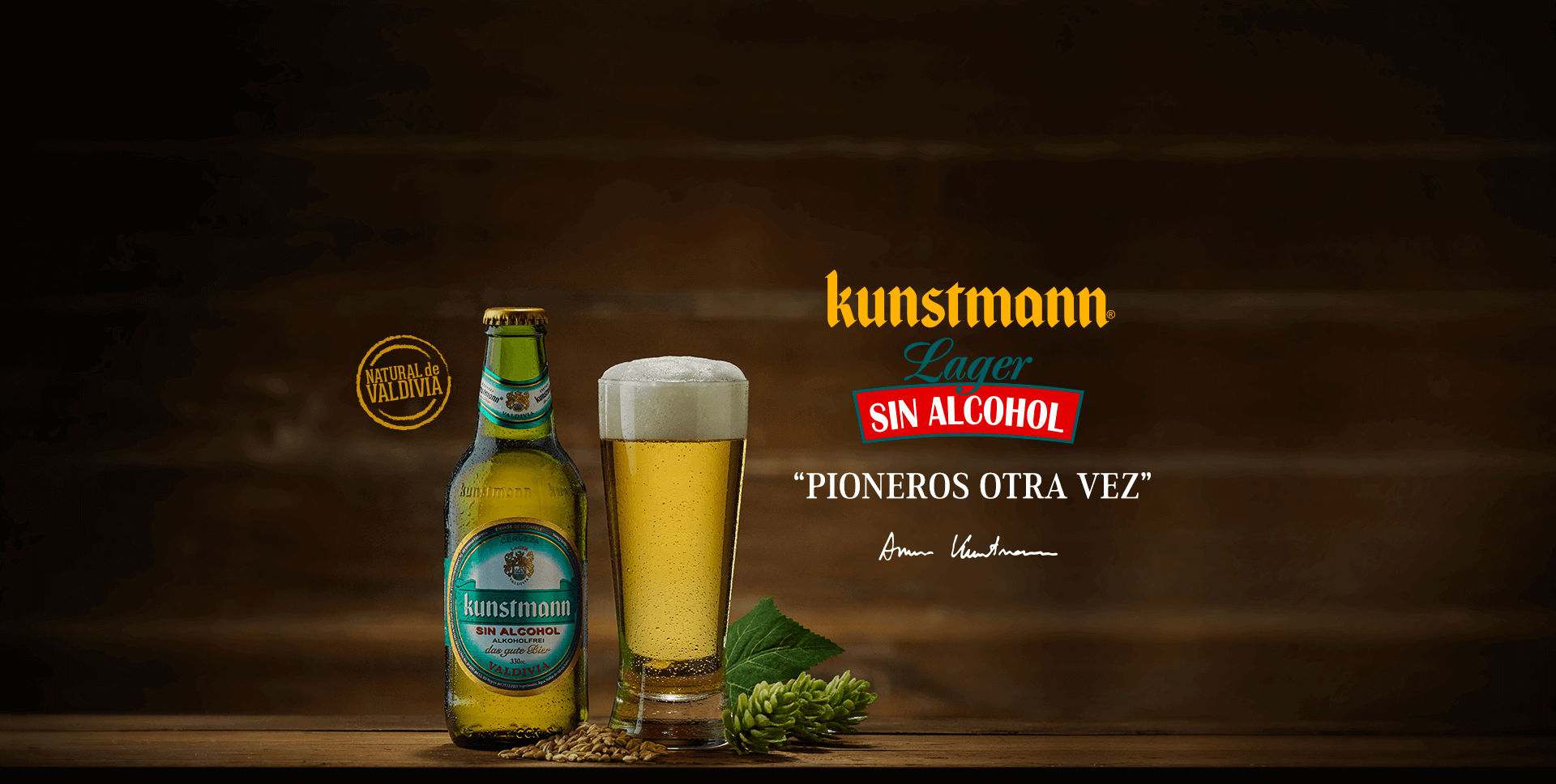 Portada Lager Sin Alcohol
