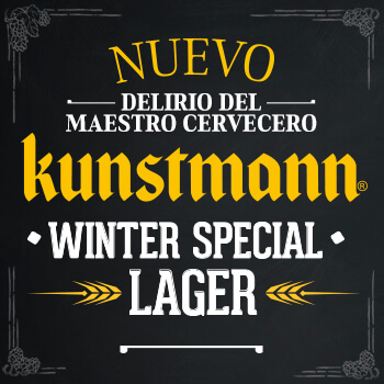 Not only black beers for winter time, New Monthly Madness: Kunstmann Winter Special Lager 2.0