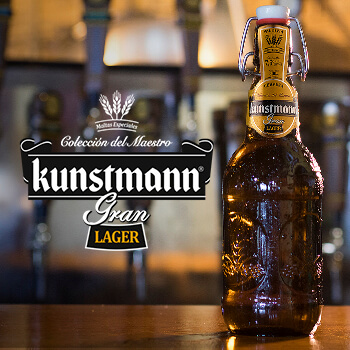 Premiere: A new specialty added to our family! Kunstmann Gran Lager