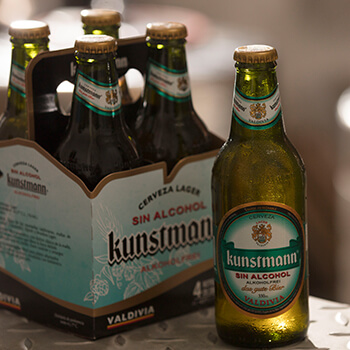 Responsible consumption: On 18 national celebration Kunstmann alcohol-free is fully enjoyed  Because original Lager formula is preserved!