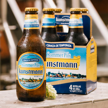 Beer and summer go hand in hand! Our season Kunstmann Sommer Pils comes again!